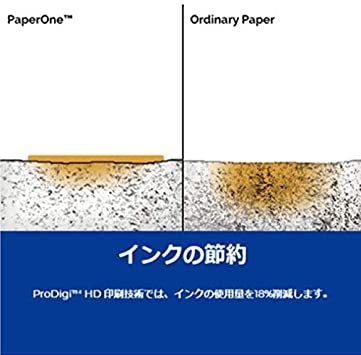 ◆ QHA4(500枚×5冊) APRILN3-U3高白色 コピー用紙 PAPER ONE A4 (500枚 5冊)_画像5