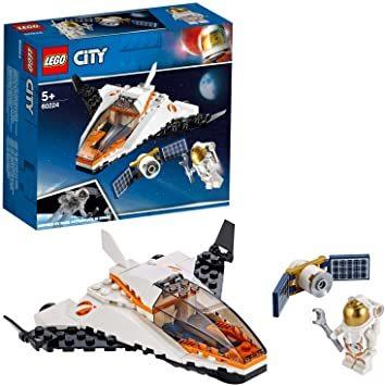 レゴ(LEGO) シティ 人口衛星を追うジェット機 60224 ブロック おもちゃ 男の子_画像1