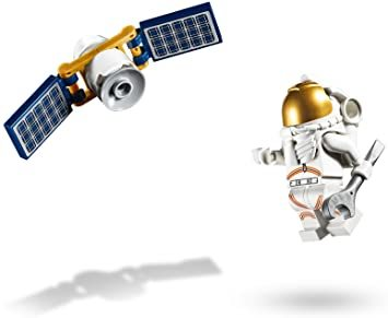 レゴ(LEGO) シティ 人口衛星を追うジェット機 60224 ブロック おもちゃ 男の子_画像5