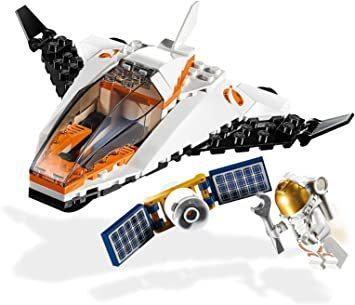 レゴ(LEGO) シティ 人口衛星を追うジェット機 60224 ブロック おもちゃ 男の子_画像2