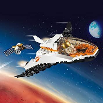 レゴ(LEGO) シティ 人口衛星を追うジェット機 60224 ブロック おもちゃ 男の子_画像7