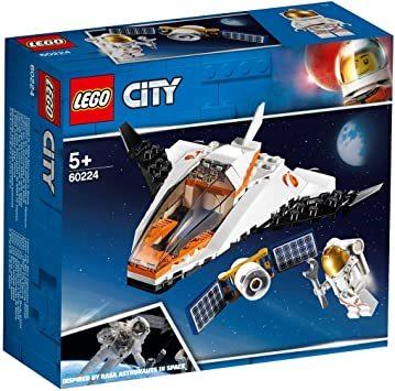 レゴ(LEGO) シティ 人口衛星を追うジェット機 60224 ブロック おもちゃ 男の子_画像9
