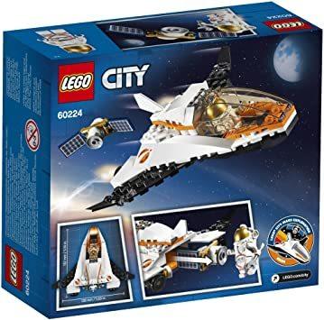 レゴ(LEGO) シティ 人口衛星を追うジェット機 60224 ブロック おもちゃ 男の子_画像8