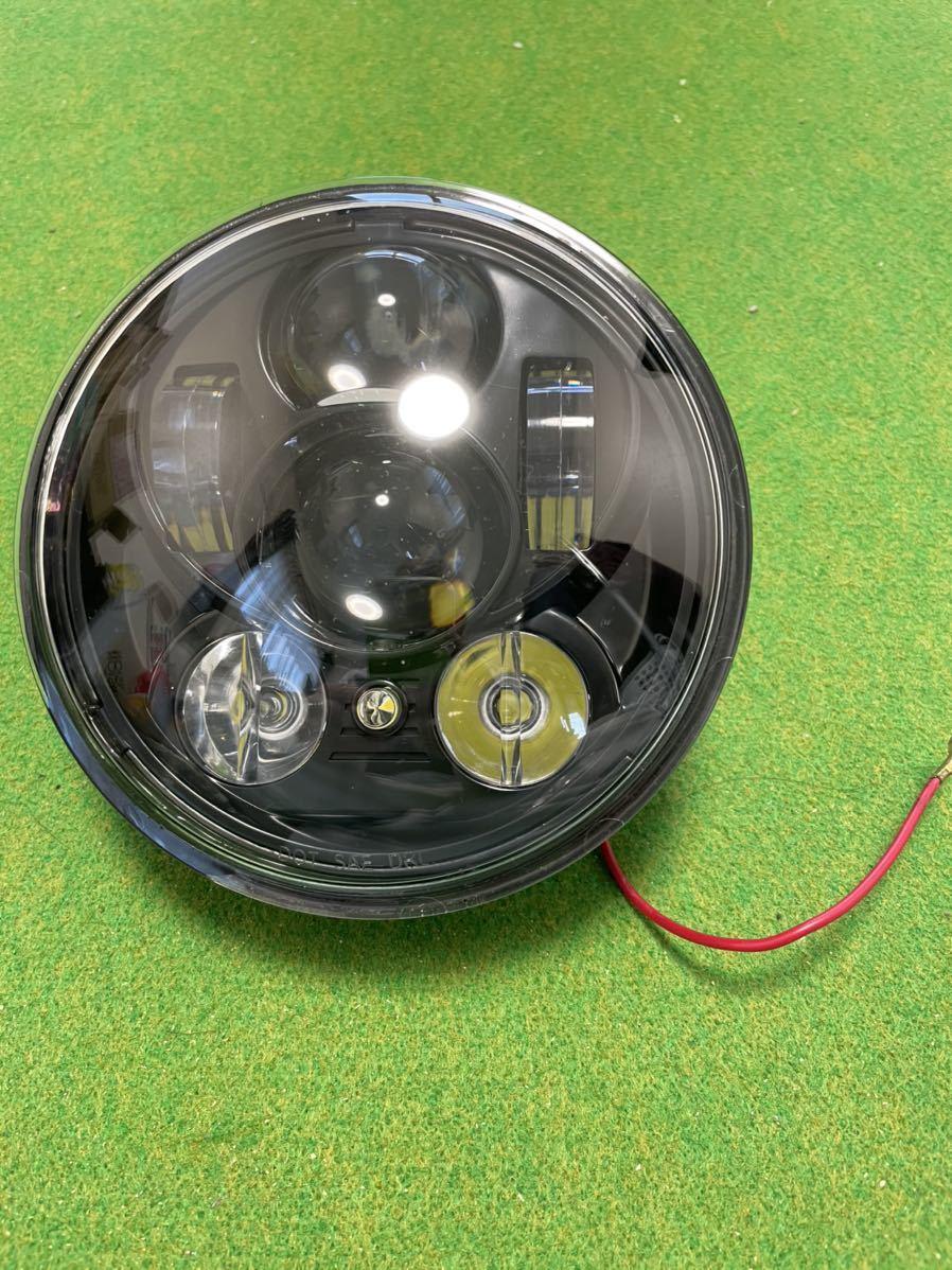 スポーツスター ハーレー LEDヘッドライト_画像2