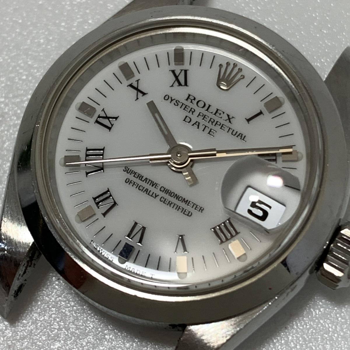 1円~ ロレックス Rolex オイスターパーペチュアル デイト A番 純正78240 69160 レディー