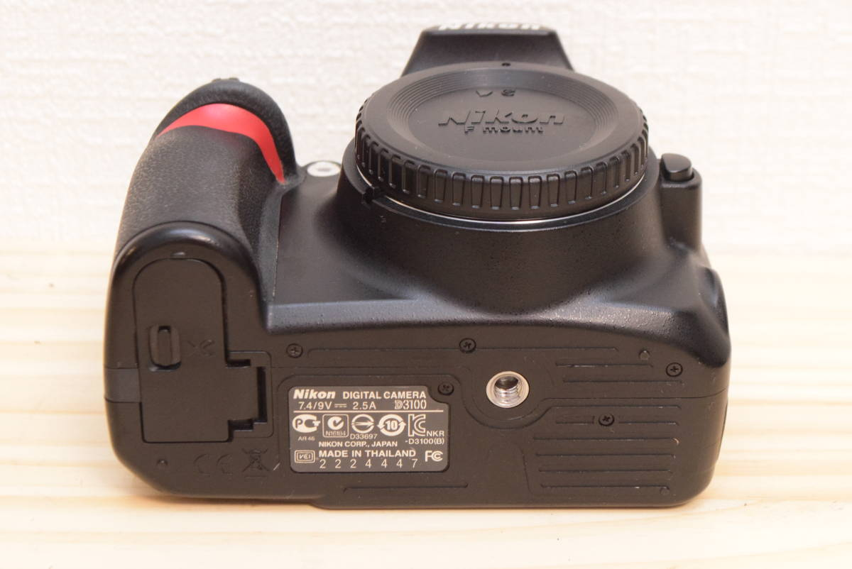D10◆美品◆ ニコン Nikon D3100 ボディ 【ショット数27043回!】/3082C_画像6