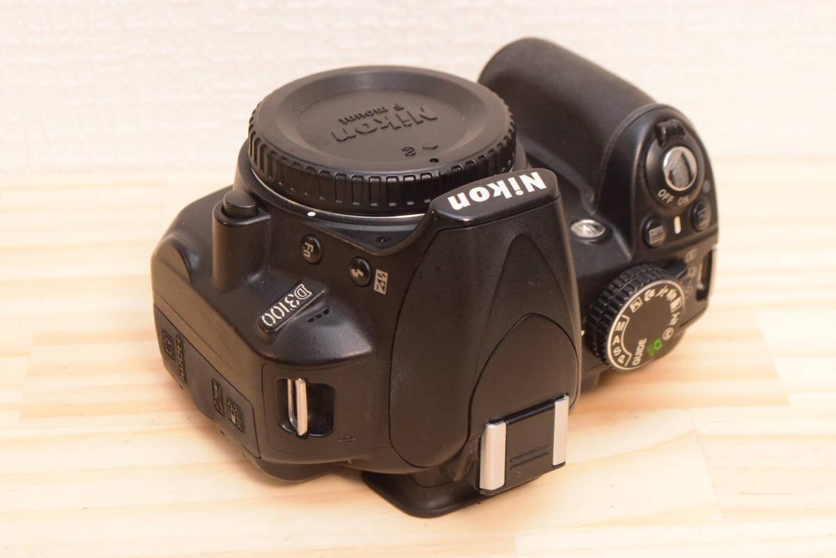 D10◆美品◆ ニコン Nikon D3100 ボディ 【ショット数27043回!】/3082C_画像5