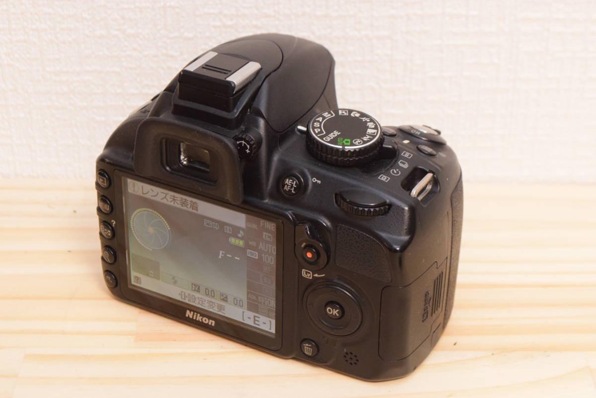 D10◆美品◆ ニコン Nikon D3100 ボディ 【ショット数27043回!】/3082C_画像3