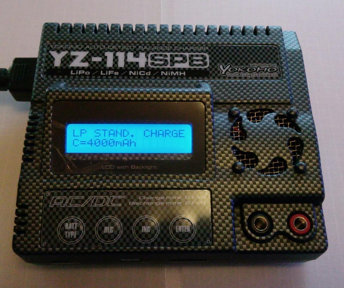 ヨコモ YZ‐114 SPB 充電器 カーボン バランサー内蔵 YOKOMO