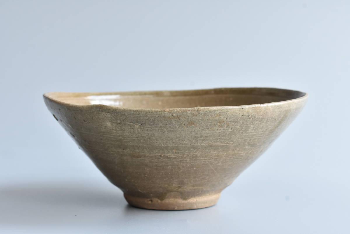 【 高麗青磁茶碗 】朝鮮古陶磁 韓国美術 茶道具 _画像4