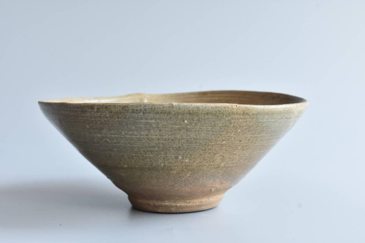 【 高麗青磁茶碗 】朝鮮古陶磁 韓国美術 茶道具 _画像1