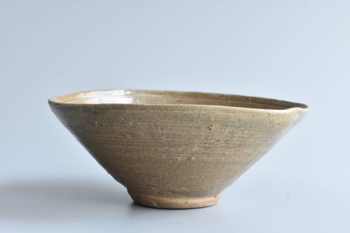 【 高麗青磁茶碗 】朝鮮古陶磁 韓国美術 茶道具 _画像3