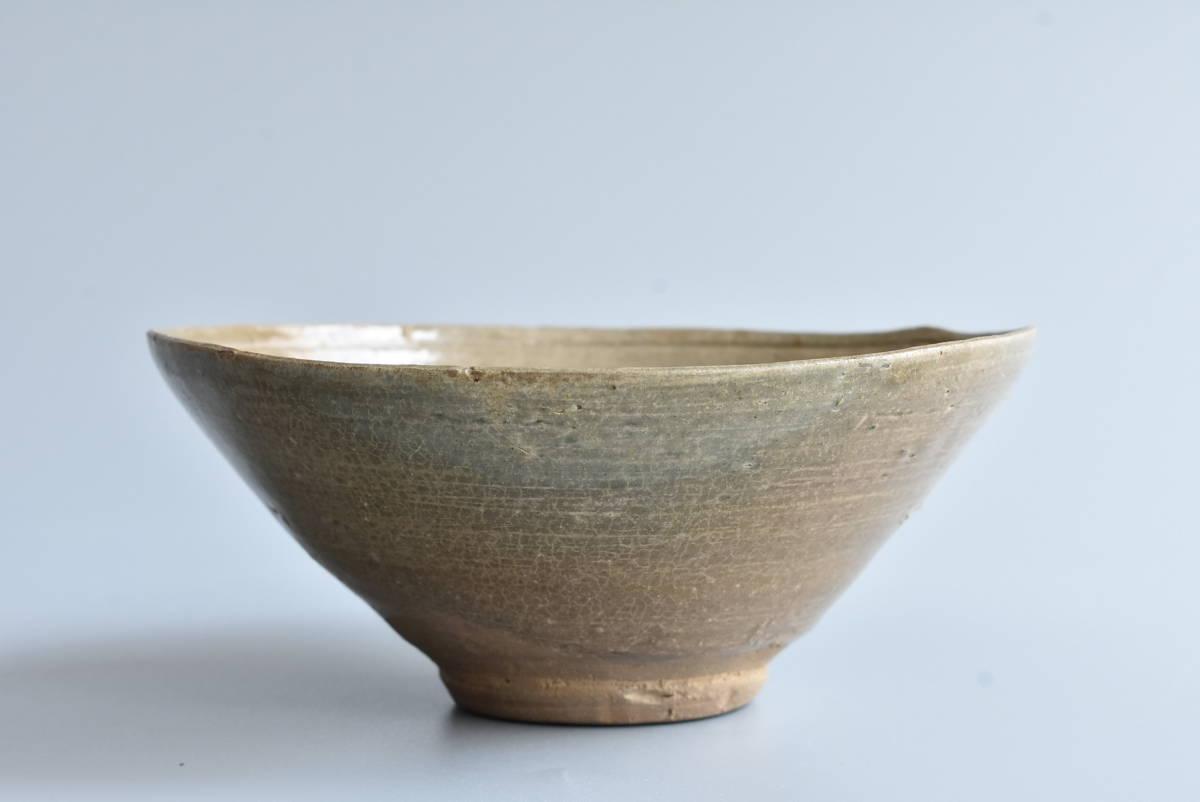 【 高麗青磁茶碗 】朝鮮古陶磁 韓国美術 茶道具 _画像2