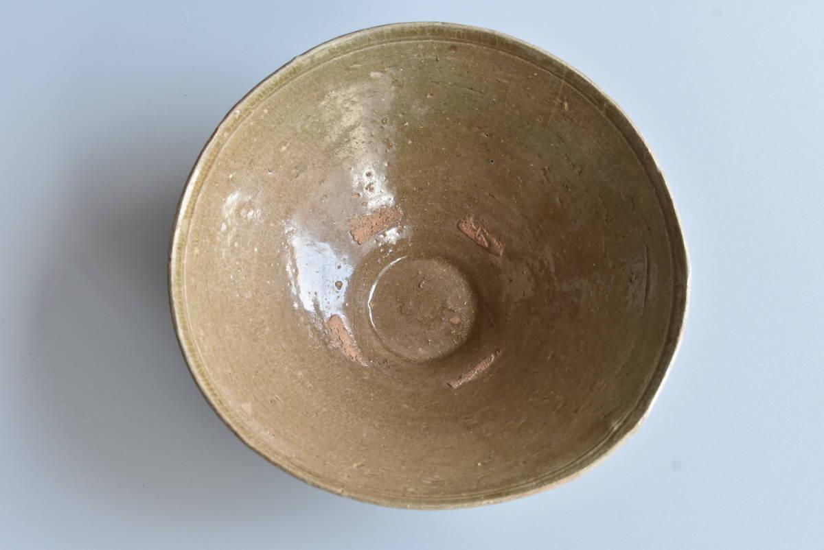【 高麗青磁茶碗 】朝鮮古陶磁 韓国美術 茶道具 _画像5