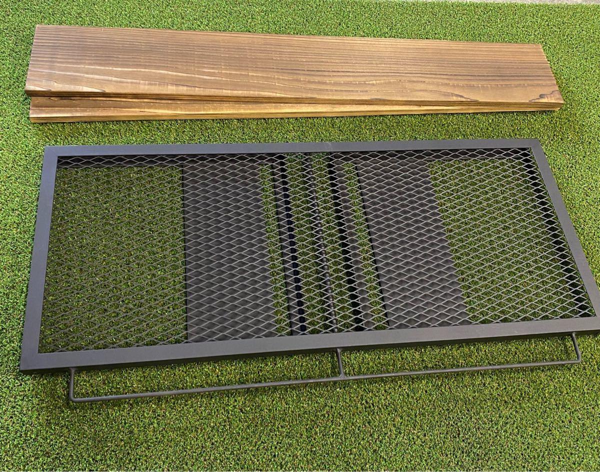アイアンシェルフ+専用木板セット(GO OUT掲載商品)