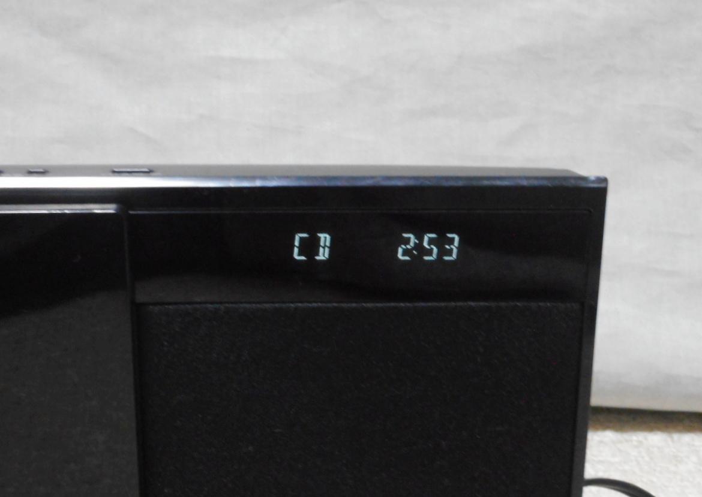 Panasonic コンパクトステレオシステム 「SC-HC27」 CD/ラジオ/iPod 2012年製_画像9