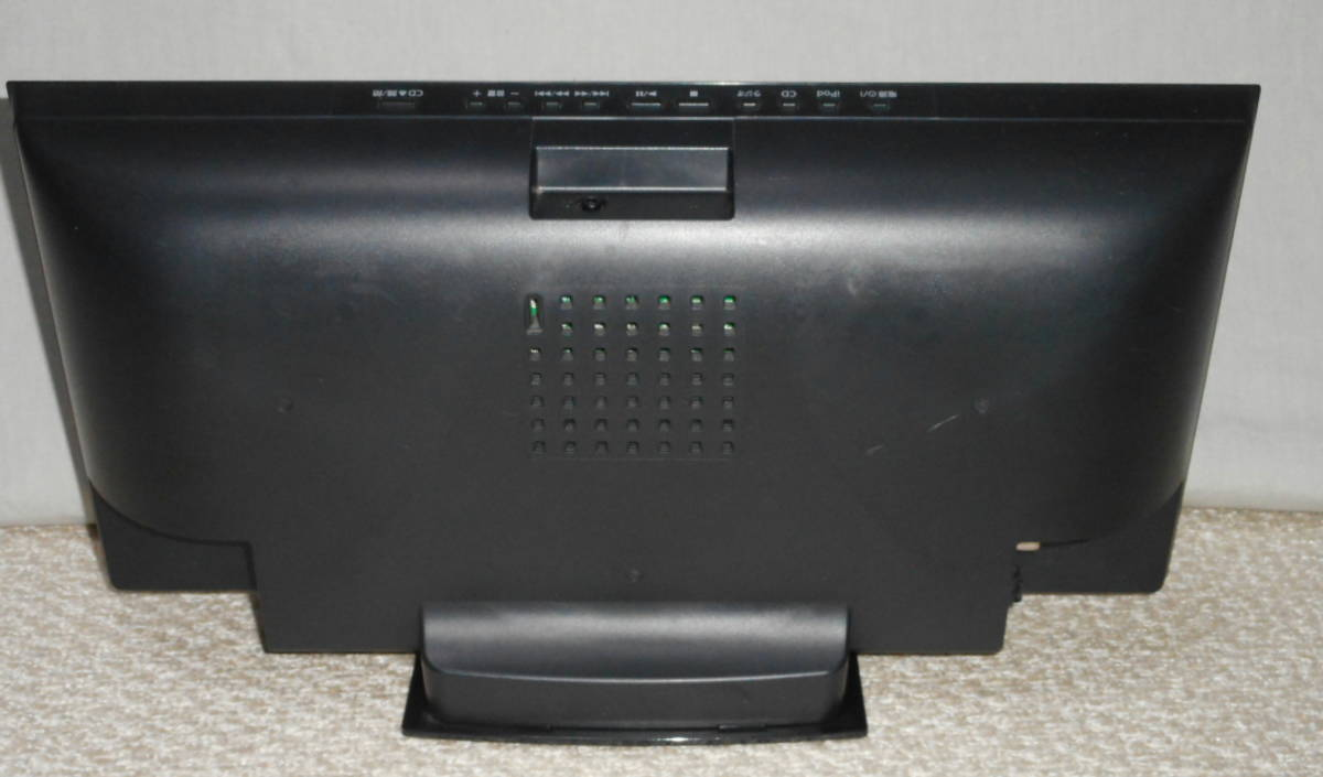 Panasonic コンパクトステレオシステム 「SC-HC27」 CD/ラジオ/iPod 2012年製_画像5