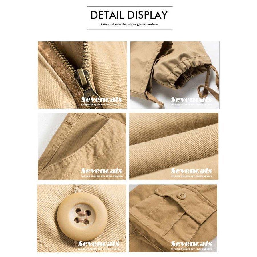 カーゴパンツ メンズ 作業着 ロング 大きいサイズ 送料無料 カーゴパンツ メンズ 作業着 ロング 大きいサイズ コットンパンツ ロングパン_画像5
