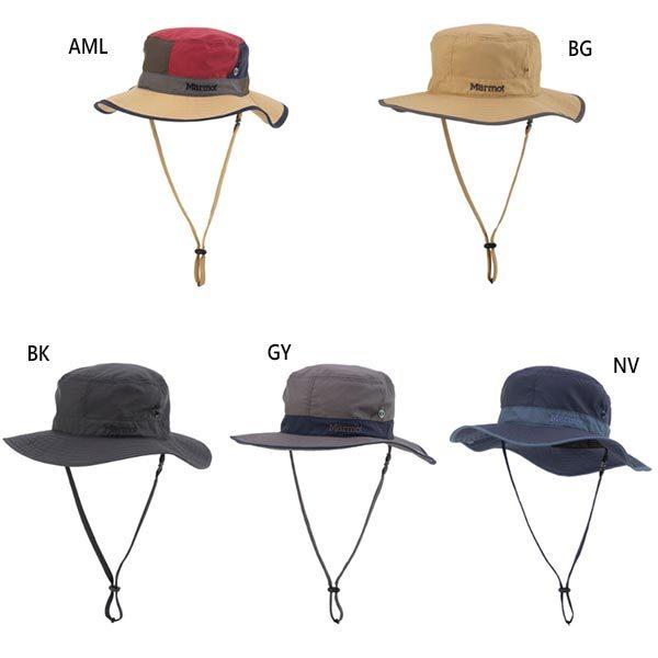 ★Marmot マーモット 帽子 L 59cm BCハット 2WAY 耳付き 帽子 トレッキング アウトドア ブラック
