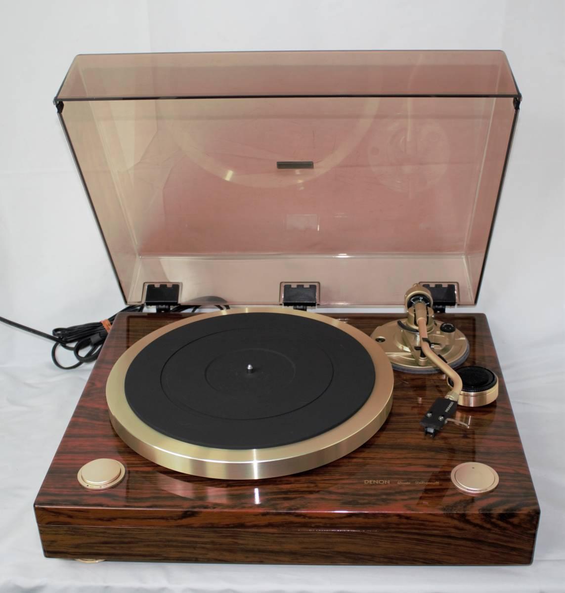 DENON デノン DP-900M ダイレクトドライブレコードプレーヤー ターンテーブル オーディオ機器 NN0808 076