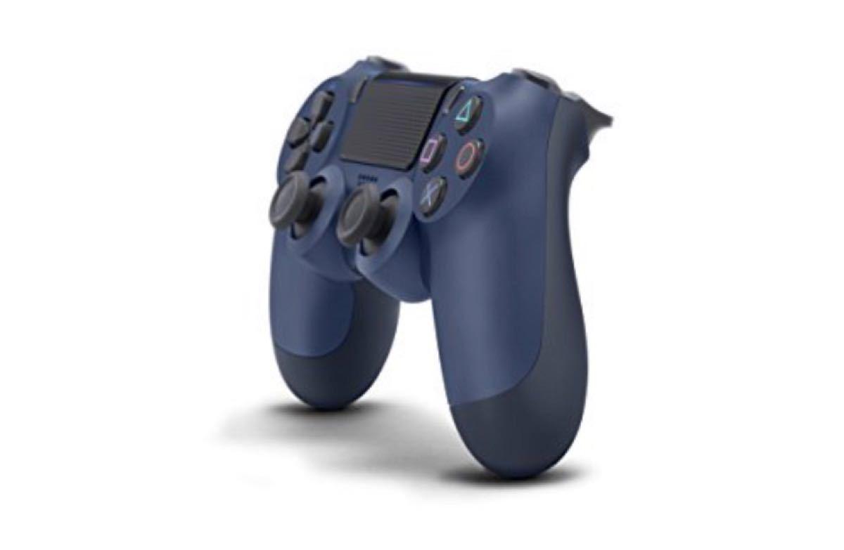 PS4 ワイヤレスコントローラ DUALSHOCK4 ミッドナイト・ブルー