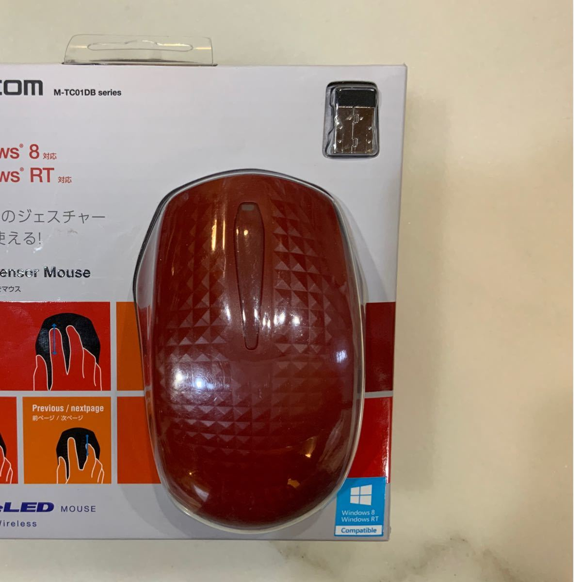 マウス ワイヤレス ELECOM M-TC01DBRD