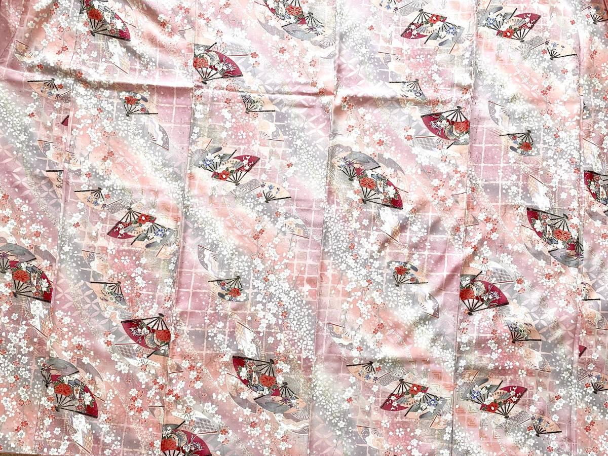 着物リメイクスカート&羽織物セットフリーサイズ着物スカート&ショールセットハンドメイド送料無料着物リメイク&羽織物セットNo.481