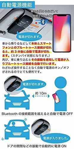 新品黒 車載 ワイヤレススピーカー【TAXION】 業務用対応 プロ仕様 Bluetooth 4.1 日本語アナウン2VD1_画像4
