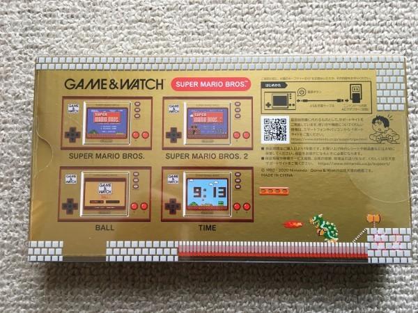 【未使用未開封品】GAME WATCHゲームウォッチ スーパーマリオブラザーズ 35周年記念 Nintendo 任天堂