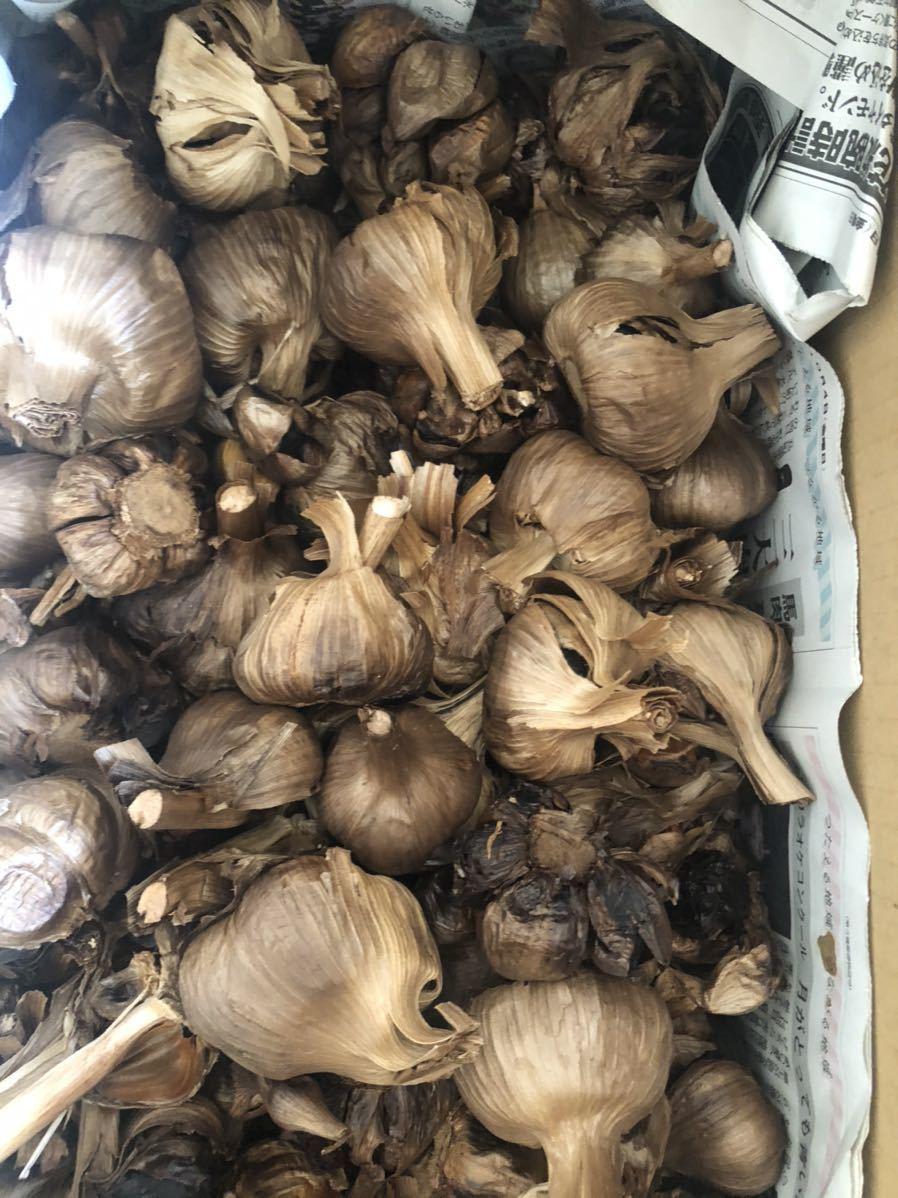 青森県産福地ホワイト窯出し熟成黒にんにく3キロ送料無料_画像2
