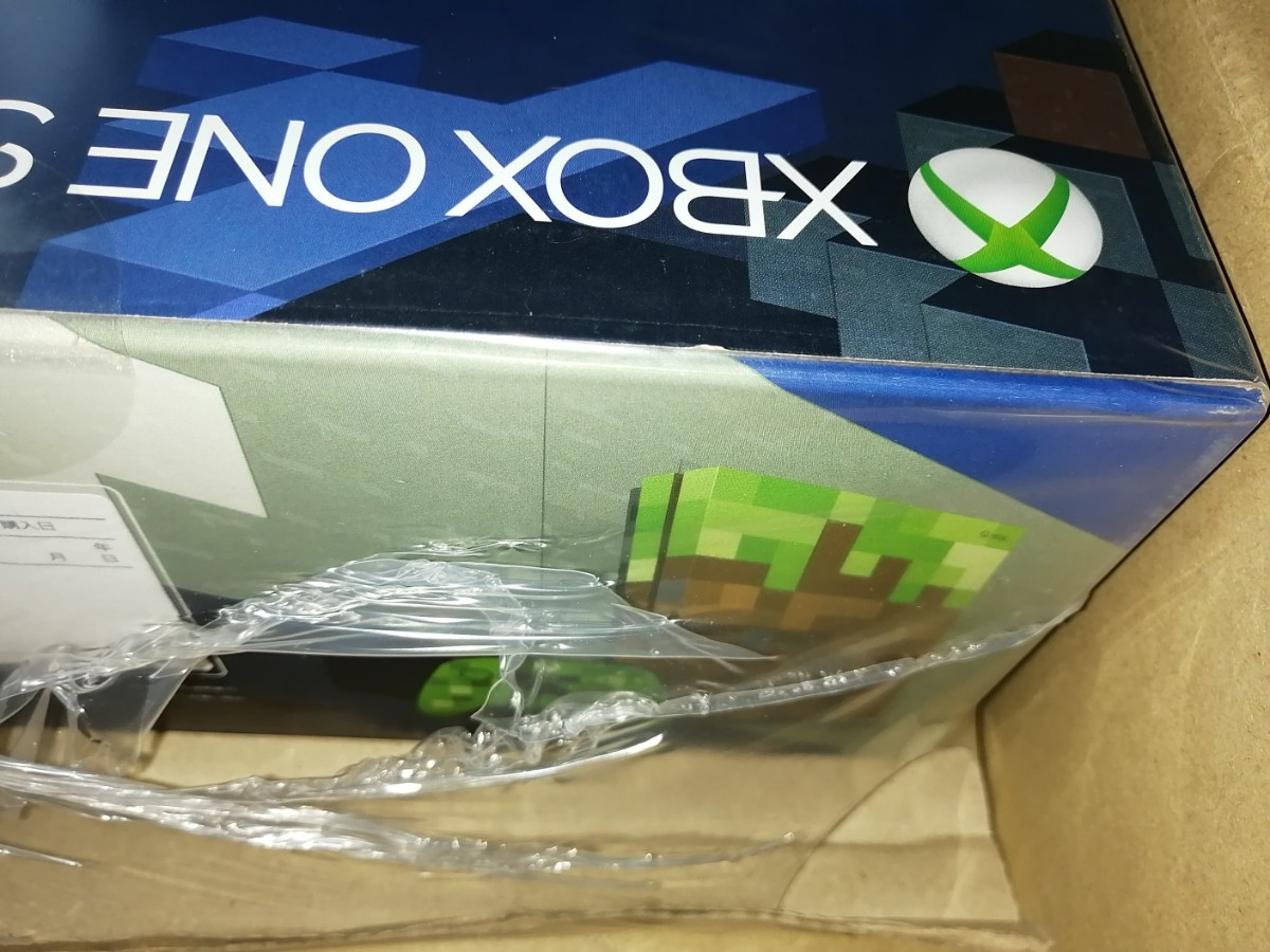 新品未開封 Xbox One S 1TB マインクラフトMinecraft リミテッドエディション
