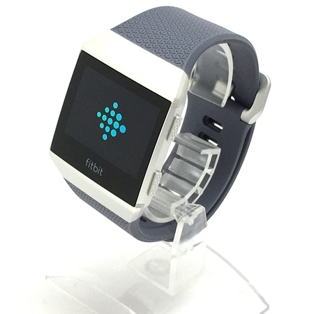 【1円】 美品 Fitbit フィットビット iONIC スマートウォッチ FB503WTGY-CJK 中古 Y5208709