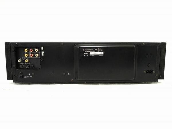 【1円】 ジャンク Panasonic LX-900 松下電器 LDプレイヤー 映像機器 O5535135_画像8