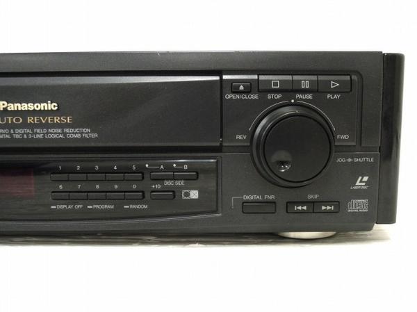 【1円】 ジャンク Panasonic LX-900 松下電器 LDプレイヤー 映像機器 O5535135_画像4