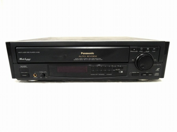 【1円】 ジャンク Panasonic LX-900 松下電器 LDプレイヤー 映像機器 O5535135_画像1