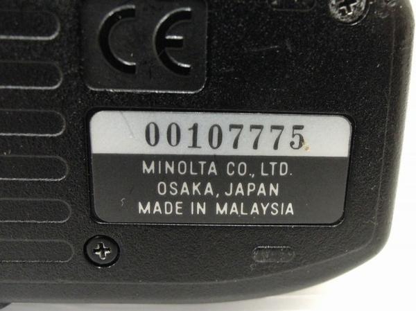 MINOLTA α sweet II AF ZOOM 35-105mm F3.5(22)-4.5 フィルム カメラ レンズ セット ミノルタ ジャンク O5616899_画像8
