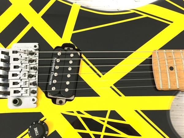 良好 kramer usa bumblebee Black Yellow Stripe ハードケース付 エレキギター 弦楽器 中古 O5566231_画像7