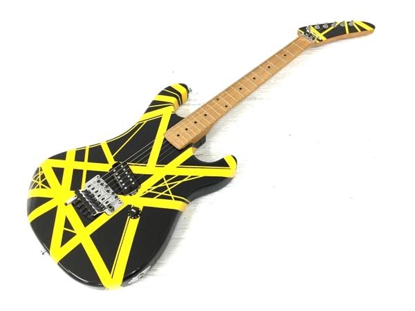 良好 kramer usa bumblebee Black Yellow Stripe ハードケース付 エレキギター 弦楽器 中古 O5566231_画像1