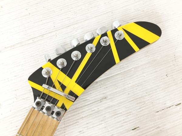 良好 kramer usa bumblebee Black Yellow Stripe ハードケース付 エレキギター 弦楽器 中古 O5566231_画像5
