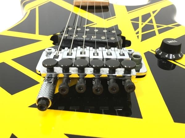 良好 kramer usa bumblebee Black Yellow Stripe ハードケース付 エレキギター 弦楽器 中古 O5566231_画像8