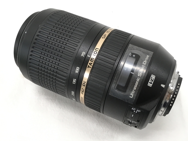 TAMRON SP 70-300mm f4-5.6 Di VC USD 望遠 ズームレンズ Nikon用 良好 中古 W5578143_画像4