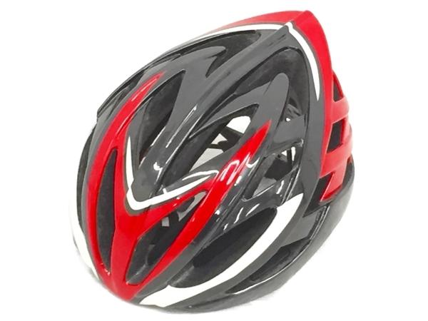 TREK SONIC 60-64cm L サイズ ヘルメット レッド トレック 自転車 中古 O5586692