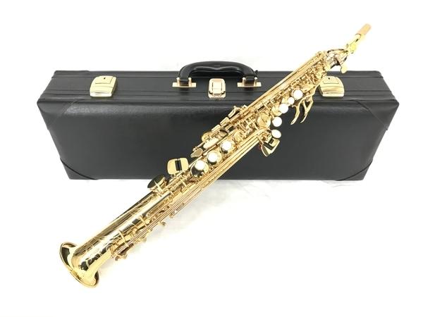 YAMAHA YSS-875EX ソプラノサックス 管楽器 ケース付 ヤマハ 中古 美品 N5607339_画像1