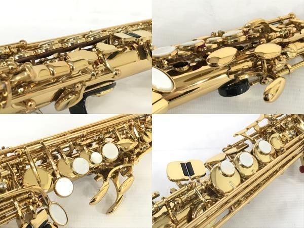 YAMAHA YSS-875EX ソプラノサックス 管楽器 ケース付 ヤマハ 中古 美品 N5607339_画像6