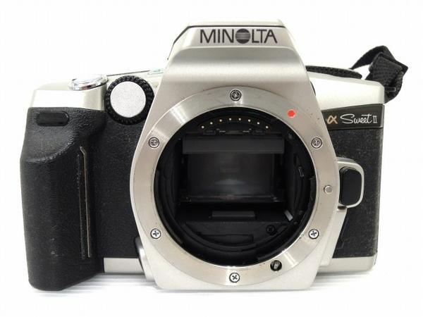 MINOLTA α sweet II AF ZOOM 35-105mm F3.5(22)-4.5 フィルム カメラ レンズ セット ミノルタ ジャンク O5616899_画像2