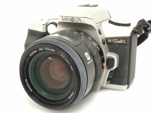 MINOLTA α sweet II AF ZOOM 35-105mm F3.5(22)-4.5 フィルム カメラ レンズ セット ミノルタ ジャンク O5616899_画像1