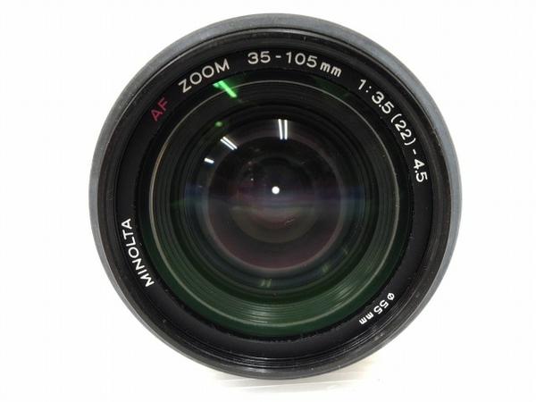 MINOLTA α sweet II AF ZOOM 35-105mm F3.5(22)-4.5 フィルム カメラ レンズ セット ミノルタ ジャンク O5616899_画像9
