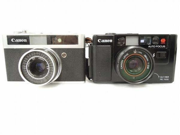 KONICA CANON フィルム カメラ おまとめ 3点 セット ジャンク O5613624_画像2