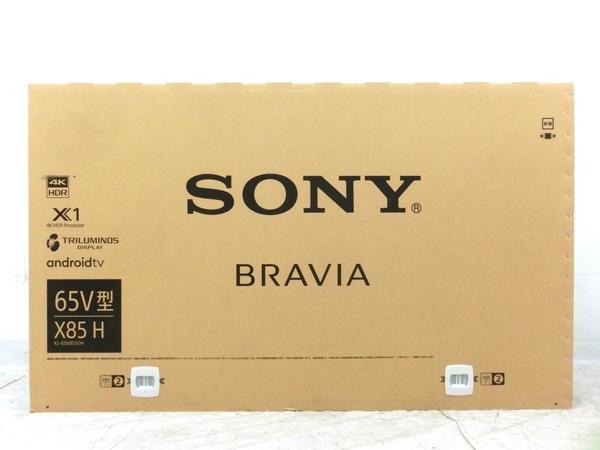 SONY BRAVIA 65型 4K 液晶テレビ KJ-65X8550H 未使用品 楽直 M5609977_画像1
