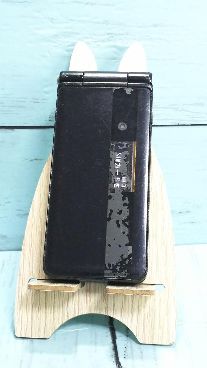 docomo Panasonic P-smart ケータイ P-01J ブラック 本体 白ロム SIMロック解除済み SIMフリー 371689_画像2